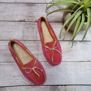 NWOB Ivanka Trump Anais Pink Orange Loafers